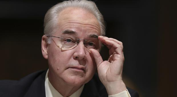 Tom Price has been approved as US Health Secretary by a Senate committee (AP)