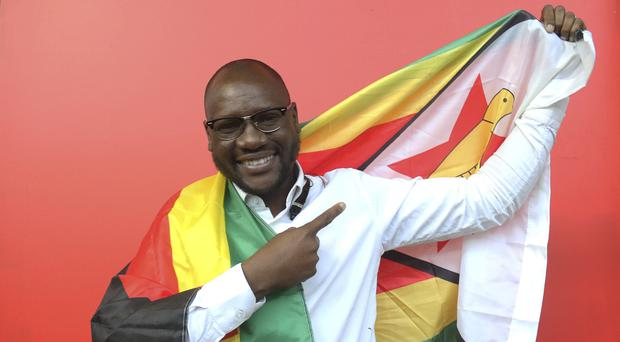 Evan Mawarire was arrested at Harare International Airport on his return home on Wednesday (AP)