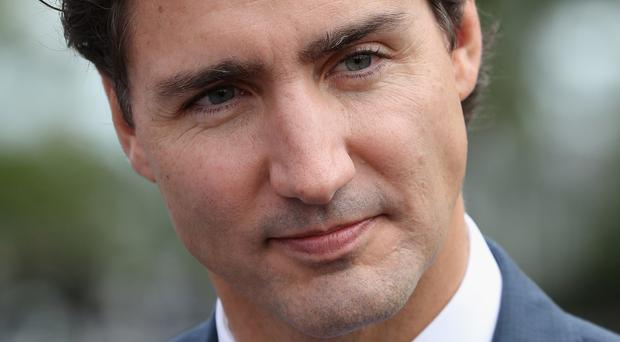 Prime Minister Justin Trudeau attended the funeral of three men killed in a shooting at a mosque in Canada