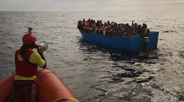 Thousands of migrants have been trying to reach the EU (AP/Emilio Morenatti)