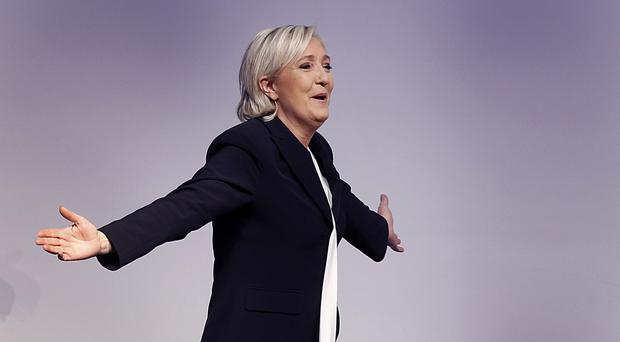 Marine Le Pen is a candidate for the presidential elections in France (AP/Michael Probst)
