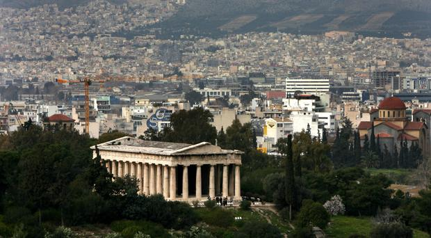 Greece's painful budget cuts caused a deep recession