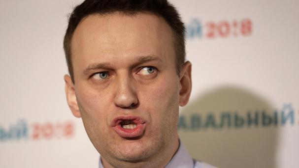 Alexei Navalny had announced plans to run for office in December and had begun to raise funds (Elena Ignatyeva/AP)