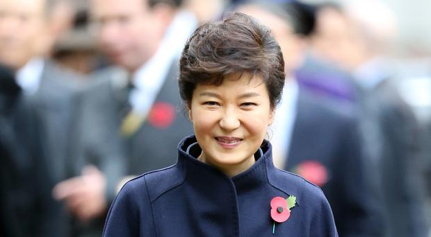 Park Geun-hye had agreed to be questioned over her alleged involvement in the corruption scandal that led to her impeachment