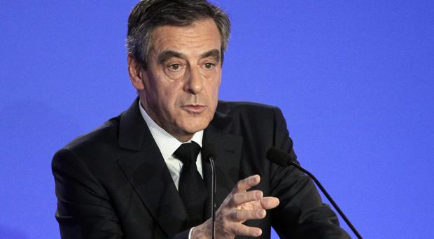 Francois Fillon is under pressure (Christophe Ena/AP)