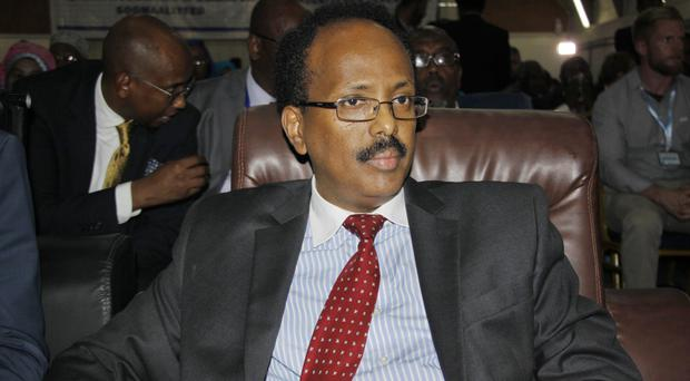 New Somalian president Mohamed Abdullahi Farmajo, pictured, must quickly form an inclusive government, the United Nations chiefs has said (AP)