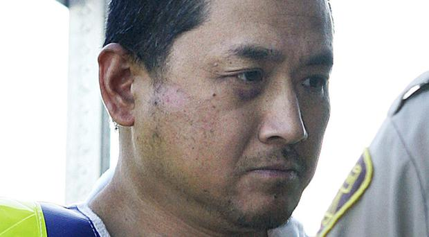 Bus cannibal Vince Li, now known as Will Baker, pictured in 2008 (The Canadian Press/AP)