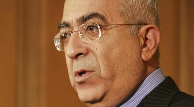Former Palestinian PM Salam Fayyad has been blocked by the US from leading the United Nations' Libya mission