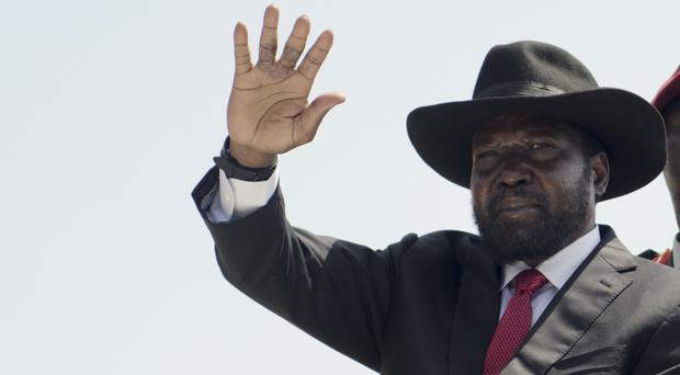 South Sudan's president Salva Kiir has been attacked in the resignation letter of a general (AP/Jason Patinkin)