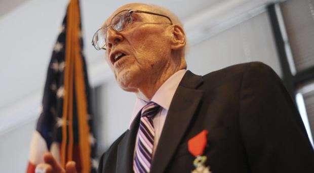 Edward Tipper was portrayed in the HBO series Band Of Brothers (The Denver Post/AP)