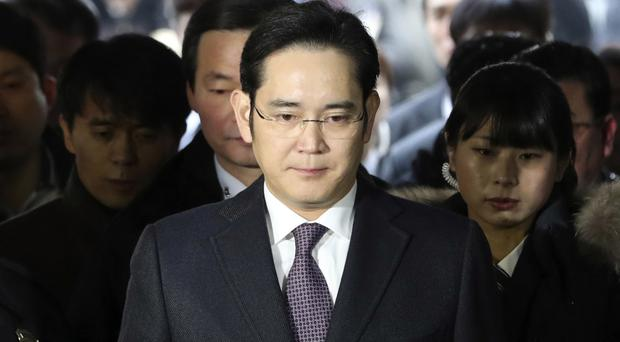 Lee Jae-yong is facing a second summons over bribery claims (AP)