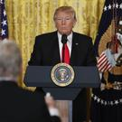 President Donald Trump vowed to bypass the media and take his message