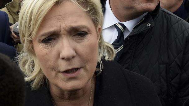 Marine Le Pen acknowledged settling an accounting problem with the parliament (AP)