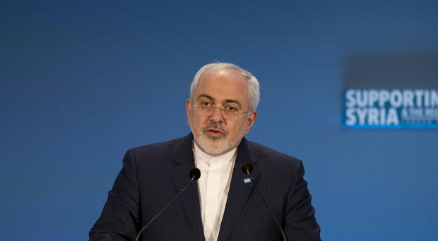 Iranian Foreign Minister Mohammad Javad Zarif says Iran has no desire to make nuclear weapons