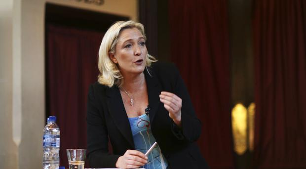 Marine Le Pen is leading polls for the first round of the French presidential election