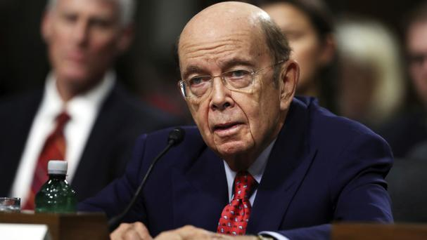 Senators said Wilbur Ross is divesting from much of his business empire (AP)