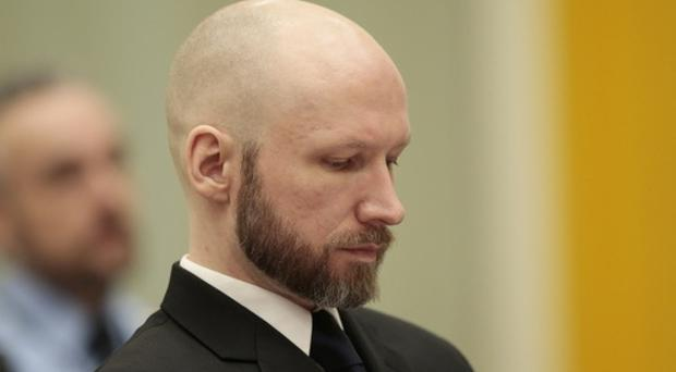 Anders Behring Breivik 'has not been subjected to torture or inhuman or degrading treatment' (Lise Aaserud/NTB Scanpix via AP)