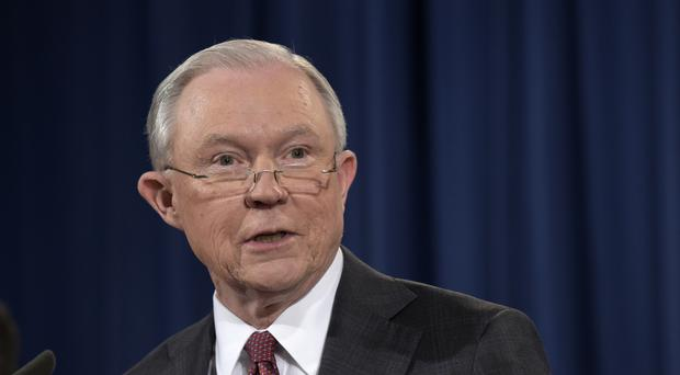 Jeff Sessions acted after revelations that he twice spoke with the Russian ambassador during the campaign (AP)