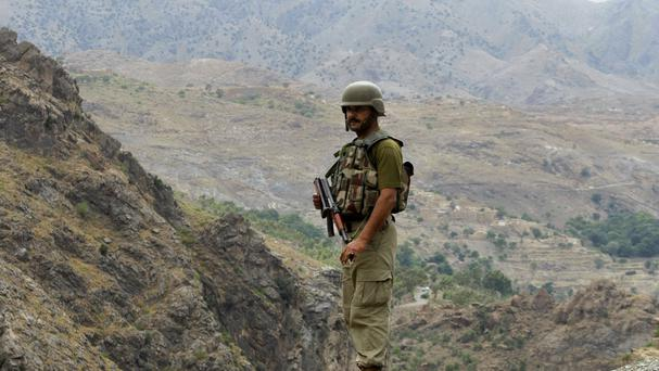 Officials said 36 militants died in shoot-outs with police and in paramilitary operations since the sweep began in Pakistan last month (AP)
