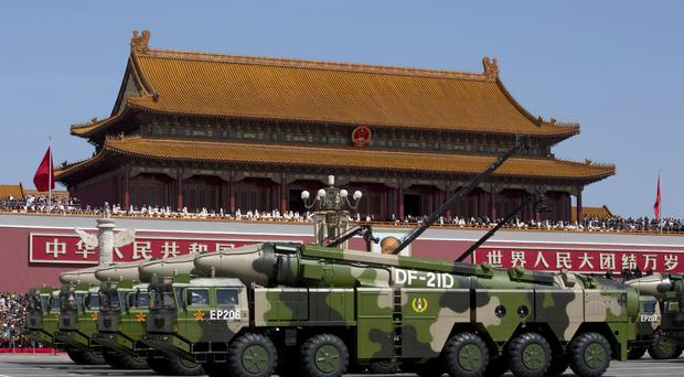 File AP photo of a Chinese military parade