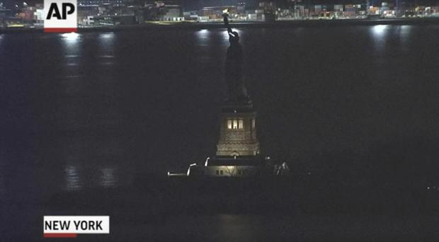 The Statue of Liberty went dark, but it was not a statement ahead of A Day Without Women protests