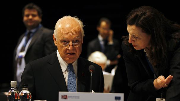 Next intra-Syrian talks set for late March - UN envoy