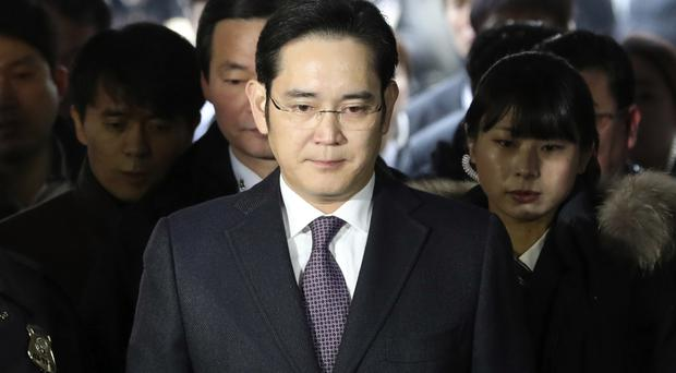 Lee Jae-yong is represented by an army of 13 lawyers (Lee Jin-man/AP)
