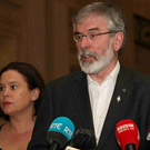 Sinn Fein's Gerry Adams and Mary Lou McDonald will fly out to America on Wednesday for a two-day visit.