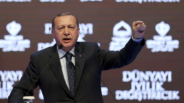 Turkey's Erdogan Calls Dutch `Fascists' After Minister Grounded