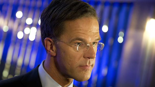 Dutch Prime Minister Mark Rutte said Britain's economy would suffer potentially irreparable harm because of Brexit (AP Photo/Peter Dejong)