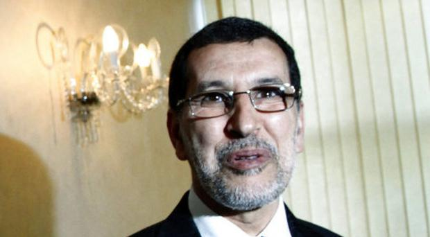 Saadeddine Othmani has been named as new prime minister. (AP/Paul Schemm)