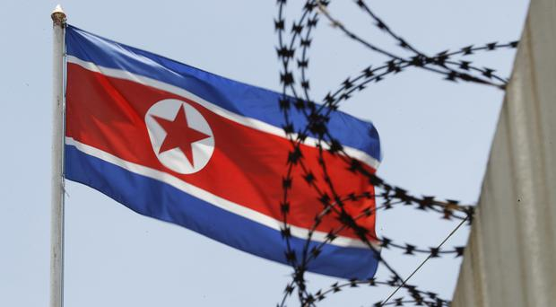 North Korea claims its satellite programme is for peaceful use, a claim many in the US and elsewhere believe is questionable (AP Photo/Vincent Thian)