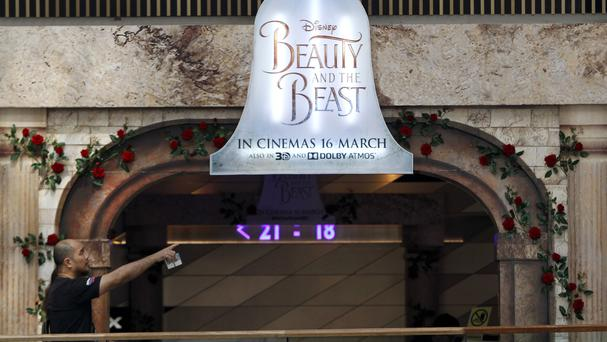 Screenings of Beauty And The Beast had been due to start on March 16 (AP)