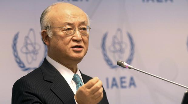 Yukiya Amano said the agency in 2018 needs a 2.1% increase to its regular operating budget of roughly 370 million euro (Ronald Zak/AP)