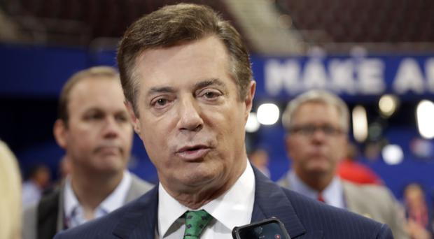 Paul Manafort was Donald Trump's campaign manager from March until August last year (AP)