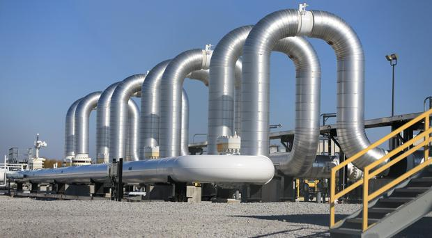 The Keystone Steele City pumping station, to which the planned Keystone XL pipeline is to connect (AP)