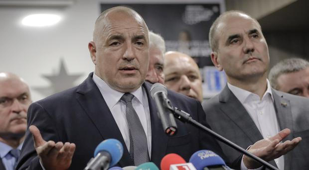 Bulgarian ex-premier Boiko Borisov will now form his third cabinet (AP)
