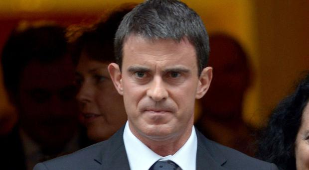 Former French PM Manuel Valls has backed Emmanuel Macron