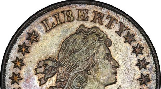 A rare 1804 silver dollar sold for millions of dollars (Stack's Bowers Galleries via AP)