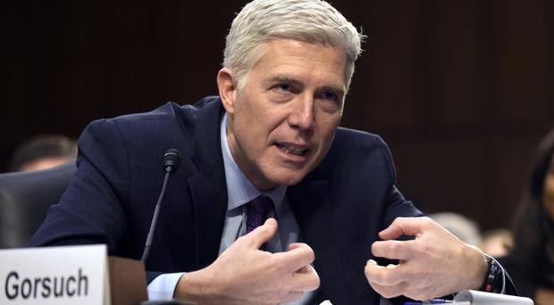Supreme Court Justice nominee Neil Gorsuch. (AP/Susan Walsh)