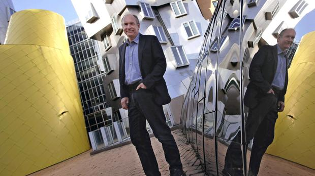Sir Tim Berners-Lee is this year's recipient of the AM Turing Award (AP)