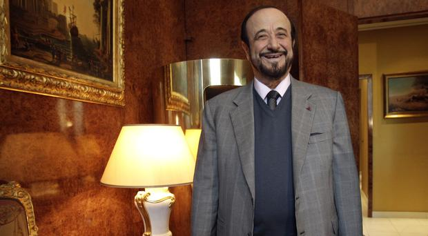 Rifaat Assad is an exiled uncle of Syrian President Bashar Assad (AP/Michel Euler)