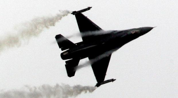 F-16 fighter jet crashed in Maryland near Joint Base Andrews