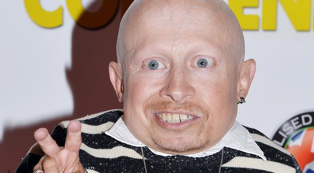 Verne Troyer at the premiere of BAFTA Cymru-winning film Convenience