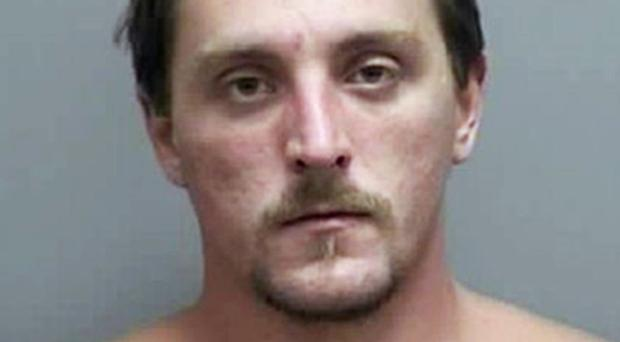 Joseph Jakubowski, who is being sought on suspicion of sending an anti-government manifesto to US President Donald Trump (Rock County Sheriff's Office via AP)