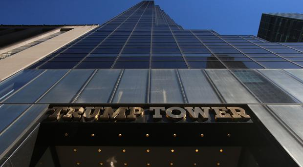 About 2 dozen people arrested at protest inside Trump Tower