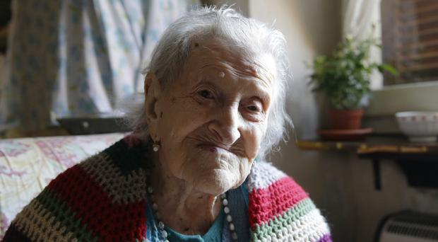 Emma Morano, the world's oldest person at 117, died in her home in northern Italy (AP)