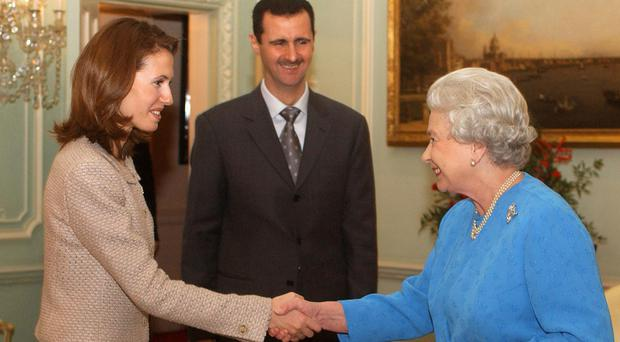 MPs call for Syrian president's wife to lose British citizenship