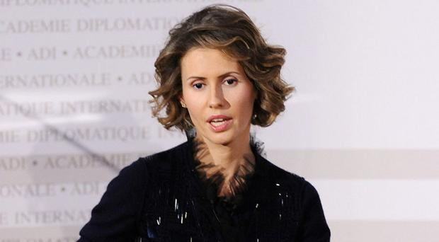 British-born: Asma Assad