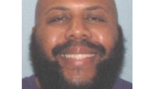 Cleveland Police are searching for Steve Stephens, a homicide suspect who they say broadcast the fatal shooting of another man live on Facebook (Cleveland Police via AP)